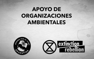 Comunicado de organizaciones socioambientales
