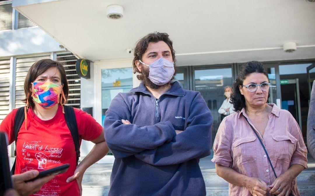 En Paraná, Juan Grabois y Dolores Etchevehere exigieron a la justicia entrerriana que no dilate las causas contra los Etchevehere